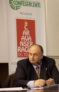 foto presidente Farina caravanserraglio